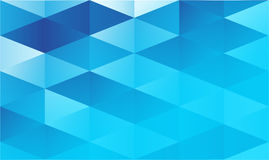 Blue geometric abstract background royalty free illustration