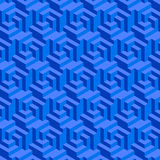 Blue Geometric Background Royalty Free Stock Photos