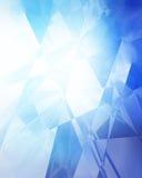 Blue geometric background Royalty Free Stock Photo