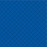 Blue geometric background, seamless pattern includ. Blue weaved geometric background, plus seamless pattern included in swatch palette stock illustration