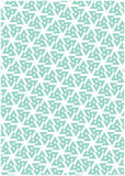 Blue geometric patter. Blue and white geometric patter Stock Image