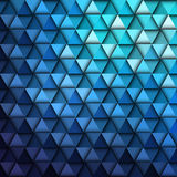 Blue Geometric Pattern Stock Images