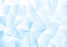 Blue geometric pattern, triangles background, polygonal design. Royalty Free Stock Photos