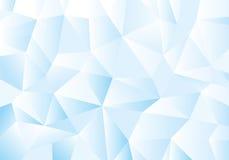 Blue geometric pattern, triangles background, polygonal design. Royalty Free Stock Photos