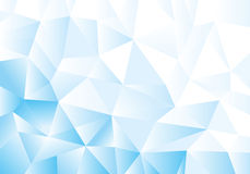 Blue geometric pattern, triangles background, polygonal design. Stock Photography