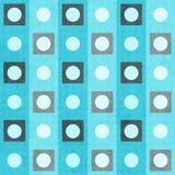 Blue geometric seamless pattern Royalty Free Stock Image