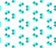 Blue Geometric Watercolor. Seamless Pattern.Surface Ornament. Blue Geometric Watercolor. Surface Textile. Seamless Pattern. Hand Drawn. Blur Brush Texture vector illustration