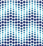 Blue geometrical circle pattern Royalty Free Stock Images
