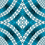Blue geometrical shapes background Royalty Free Stock Photos