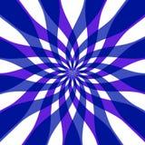 Blue geometry Stock Image