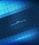 Blue geometry lines background Royalty Free Stock Image