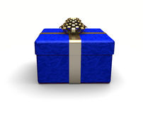 Blue Gift Royalty Free Stock Images