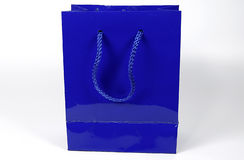 Blue Gift Bag Stock Photos