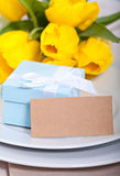 Easter present Stock Photography