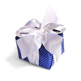 Blue gift packing Stock Photography