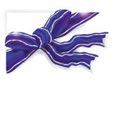 Blue gift ribbon Royalty Free Stock Photo