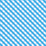 Blue Gingham. Background or texture royalty free illustration