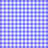 Blue Gingham Material. The pattern of a blue gingham table cloth Royalty Free Stock Image
