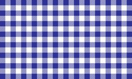 PrintBlue gingham pattern.Tablecloth for plaid and textile articles, illustration stock illustration