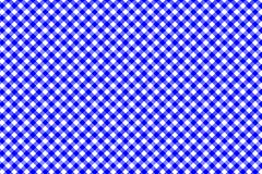 Blue Gingham pattern. Texture from rhombus/squares for - plaid, tablecloths, clothes, shirts, dresses, paper, bedding, blankets,. Quilts and other textile stock illustration