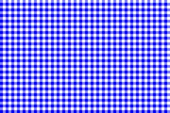 Blue Gingham pattern. Texture from rhombus/squares for - plaid, tablecloths, clothes, shirts, dresses, paper, bedding, blankets, vector illustration