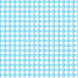 Blue gingham. A blue gingham sample with a design Royalty Free Stock Images