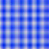 Blue Gingham Seamless Pattern. Blue and white seamless background pattern of gingham checks Royalty Free Stock Photography