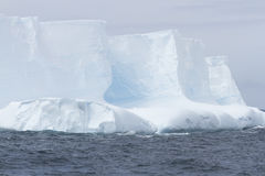 Blue glacial iceberg, Antarctica Royalty Free Stock Photo