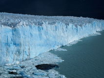 Blue Glacier Royalty Free Stock Images