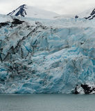 Blue Glacier Face Royalty Free Stock Photography