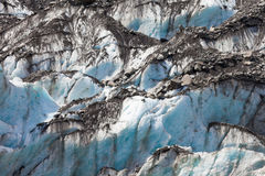Blue glacier ice background texture pattern Stock Image