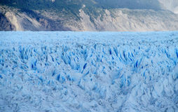 Blue glacier, ice fields of Patagonia royalty free stock images