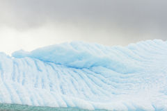 Blue glacier wall, Antarctica Royalty Free Stock Photo