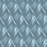 Blue Glamour Fish Skin Scale Seamless Pattern royalty free stock image