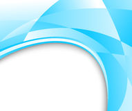 Blue glass banner Royalty Free Stock Photo