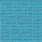Blue glass block wall Stock Images