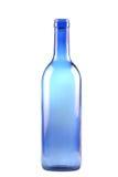 Blue glass bottle Royalty Free Stock Photo