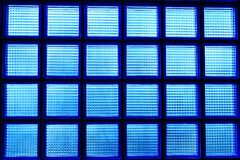 Blue glass box Royalty Free Stock Photography