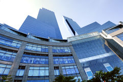 Blue Glass Building Royalty Free Stock Photos