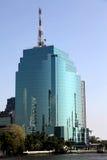 Blue Glass building Bangkok Stock Photo