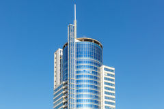 Blue glass building,  business tower Stock Image