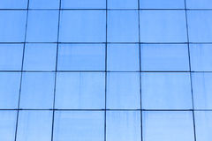 Blue glass building facade Royalty Free Stock Photo