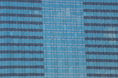 Blue Glass of Business tall buildings. Royalty Free Stock Photography