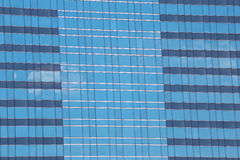 Blue Glass of Business tall buildings. Stock Image