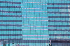 Blue Glass of Business tall buildings. Stock Images