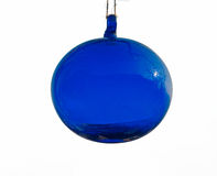 Blue glass globe Stock Photography