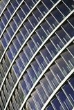 Blue glass high rise building skyscrapers Royalty Free Stock Photo