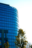 Blue glass modern building Stock Image