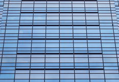 Blue glass modern office building Royalty Free Stock Photo