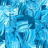Blue glass squares. Abstract background of blue glass squares Royalty Free Stock Photo